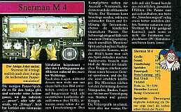 Sherman M4 Testbericht