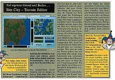 Sim City Terrain Editor Testbericht