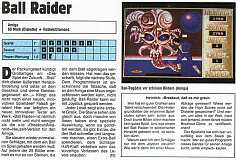 'Ball Raider Testbericht'