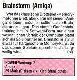 'Brainstorm Testbericht'