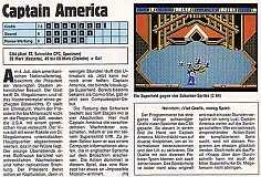'Captain America Testbericht'