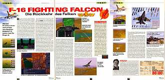 'F-16 Fighting Falcon Testbericht'