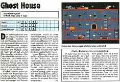 'Ghost House Testbericht'