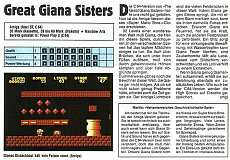 'Great Giana Sisters Testbericht'