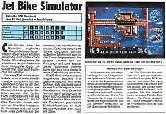 'Jet Bike Simulator Testbericht'