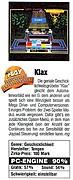 'Klax Testbericht'