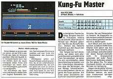 'Kung-Fu Master Testbericht'