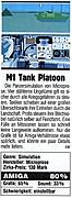 'M1 Tank Platoon Testbericht'