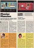 'Maniac Mansion Testbericht'