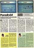 'Paradroid Testbericht'