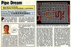 'Pipe Dream Testbericht'