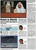 'Return to Atlantis Testbericht'