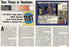 'Tass Times in Tonetown Testbericht'