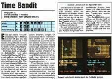 'Time Bandit Testbericht'