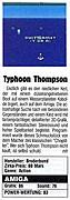'Typhoon Thompson Testbericht'