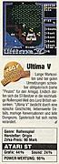 'Ultima 5 Testbericht'