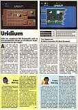 'Uridium Testbericht'