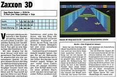 'Zaxxon 3D Testbericht'