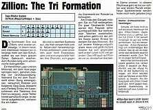 'Zillion: The Tri Formation Testbericht'