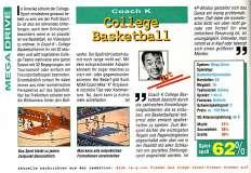 'College Basketball Testbericht'