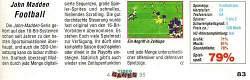 'John Madden Football Testbericht'