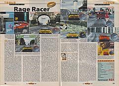 'Rage Racer Testbericht'