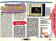 'Sherlock Holmes Testbericht'