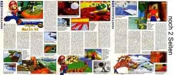 'Super Mario 64 Testbericht'