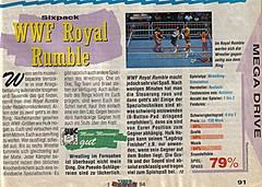 'WWF Royal Rumble Testbericht'